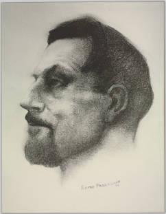 [Portrait of Malcolm Lowry]
